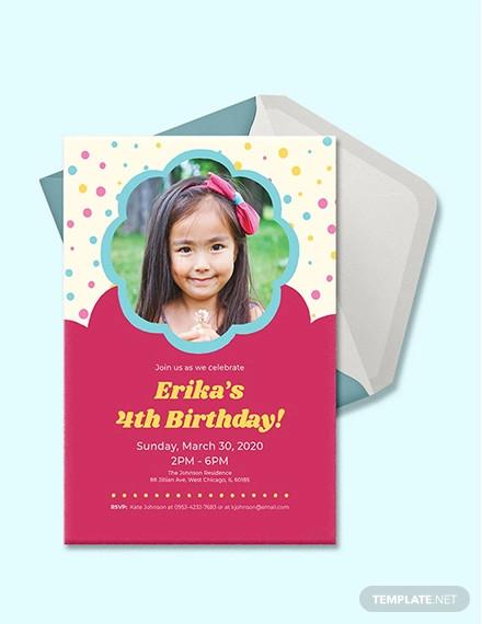 free 32 kids birthday invitations