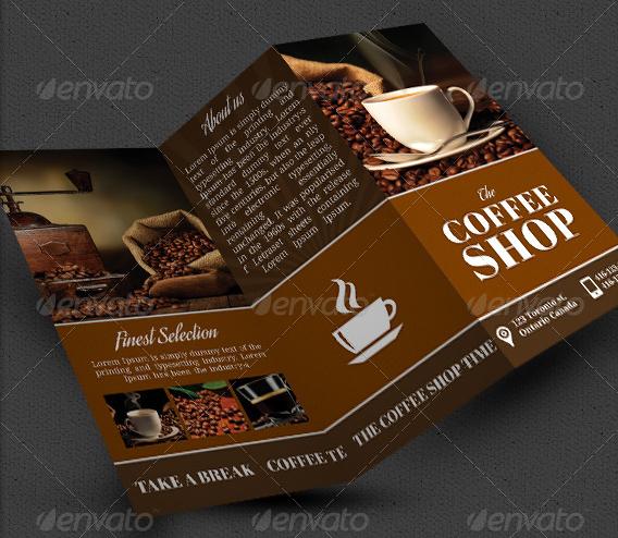10 Coffee Shop Brochure FreeCreative