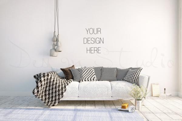 21 Interior Mockups FreeCreatives