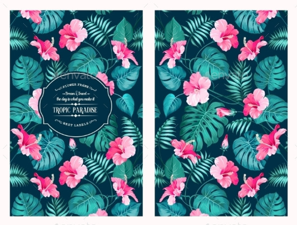 FREE 14+ Tropical Flower Patterns in PSD