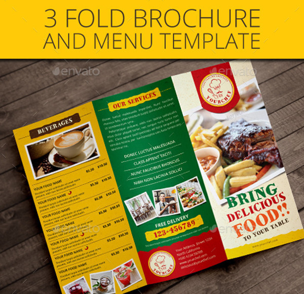 25 Catering Brochure Template PSD Vector EPS JPG Download