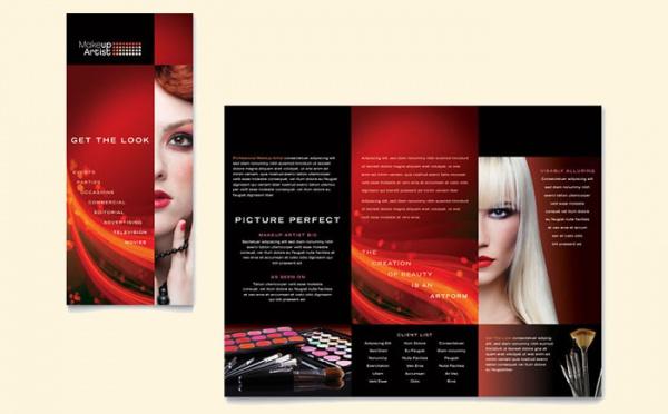 21 Cosmetic Brochure Templates PSD Vector EPS JPG