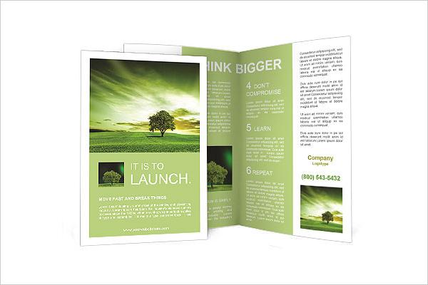 24 Landscape Brochure PSD INDD EPS AI Download