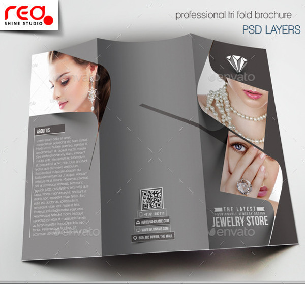 23 Jewelry Brochure PSD Vector EPS JPG Download FreeCreatives