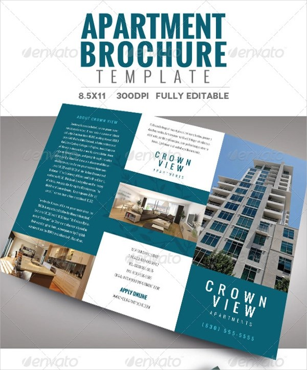 22 Apartment Brochures PSD Vector EPS Google Docs