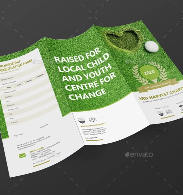 25 Golf Tournament Brochures PSD Vector EPS JPG Download