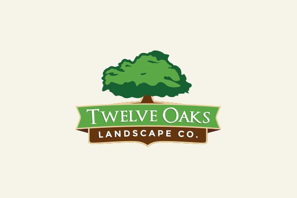 landscape logo design - psd