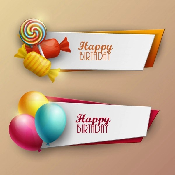 21 Birthday Banner Designs PSD Vector EPS Download