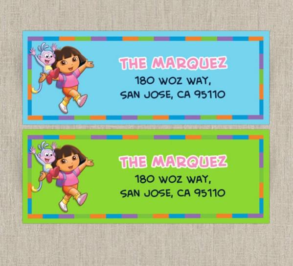 20 address label designs