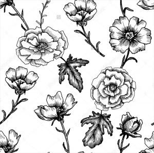 flower drawings simple drawing