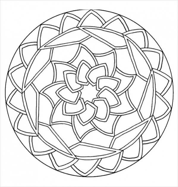 FREE 20+ Abstract Coloring Pages in AI