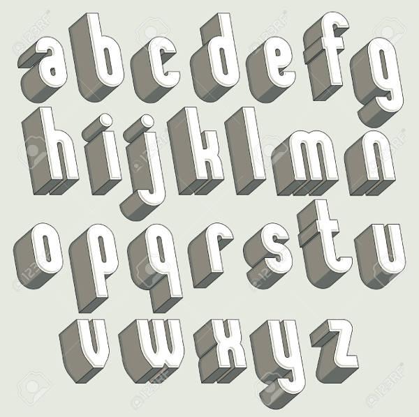 20 3d letters jpg