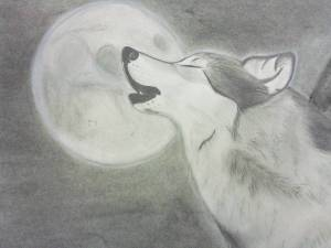 cool wolf sketch spirit drawings drawing animal deviantart sketches pencil awesome wolves simple chalk pastels paintingvalley microsoft