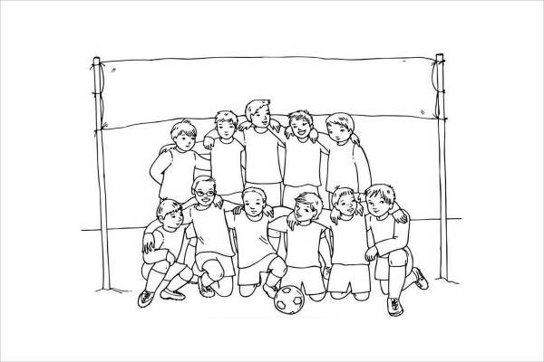 Sport Team Names Coloring Sheets Coloring Pages