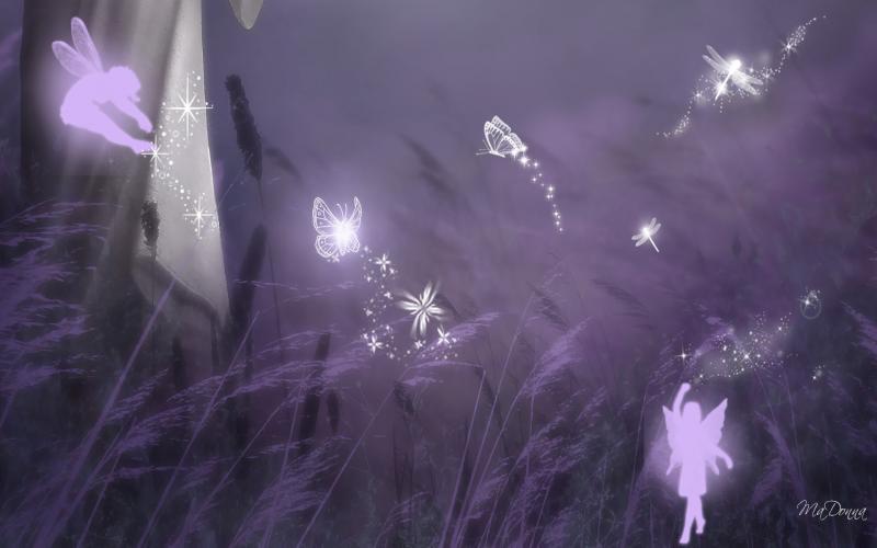 Cute Sparkly Pink Wallpapers Hd Pixies Dragonflies Butterflies Wallpaper Download