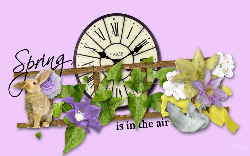 Cute Dessert Wallpaper Hd Spring In The Air Wallpaper Download Free 86027