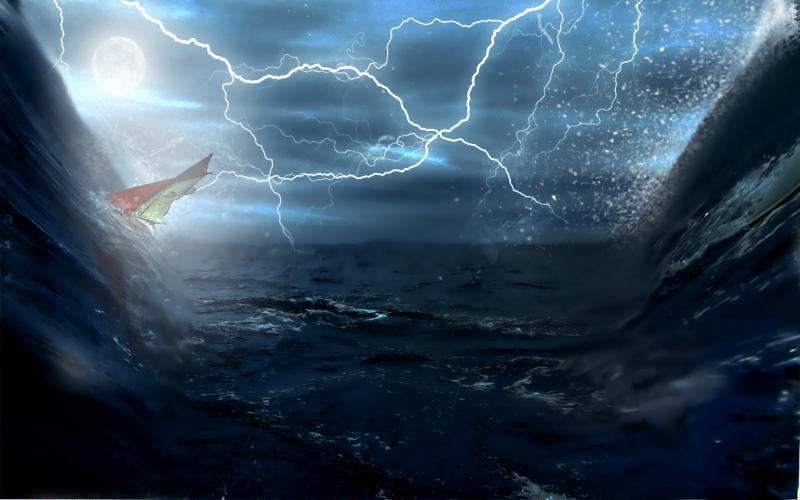 Cute Nautical Wallpaper Hd Stormy Voyage Wallpaper Download Free 88955