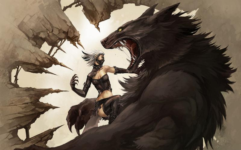 3d Wallpaper Free Download Girl Hd Werewolf Wallpaper Download Free 89192