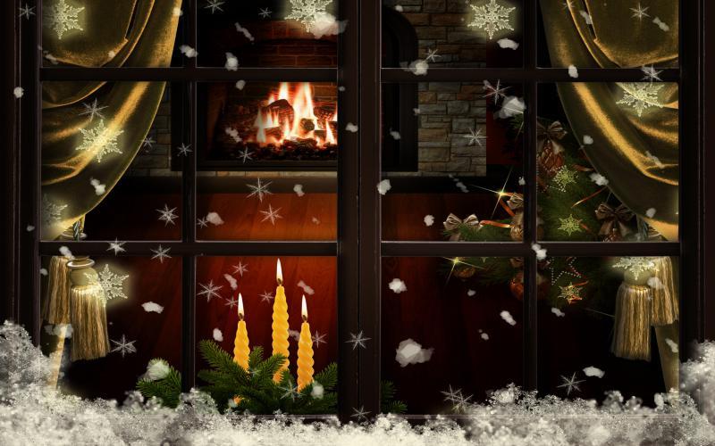 Cute Baby Girl Good Night Wallpaper Hd Christmas Eve Wallpaper Download Free 118506