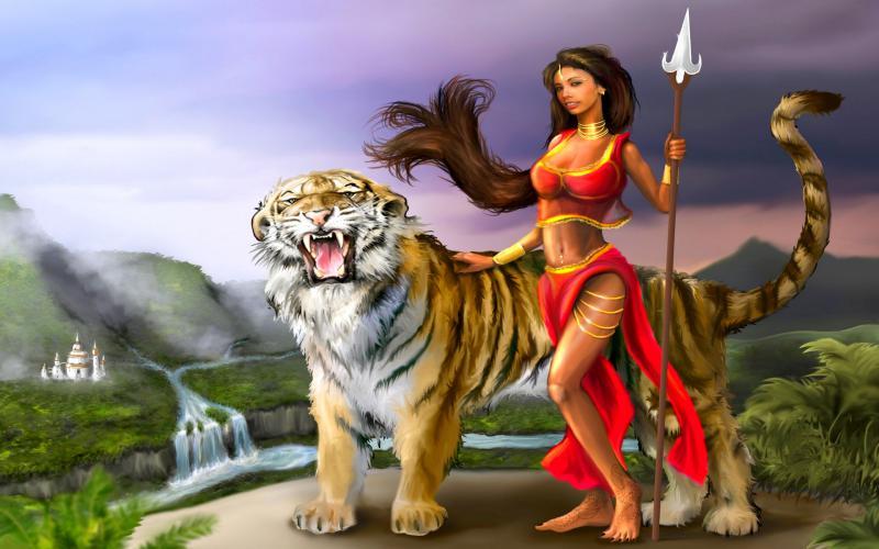 Cute Baby Dress Wallpaper Hd Tiger Queen Wallpaper Download Free 89367
