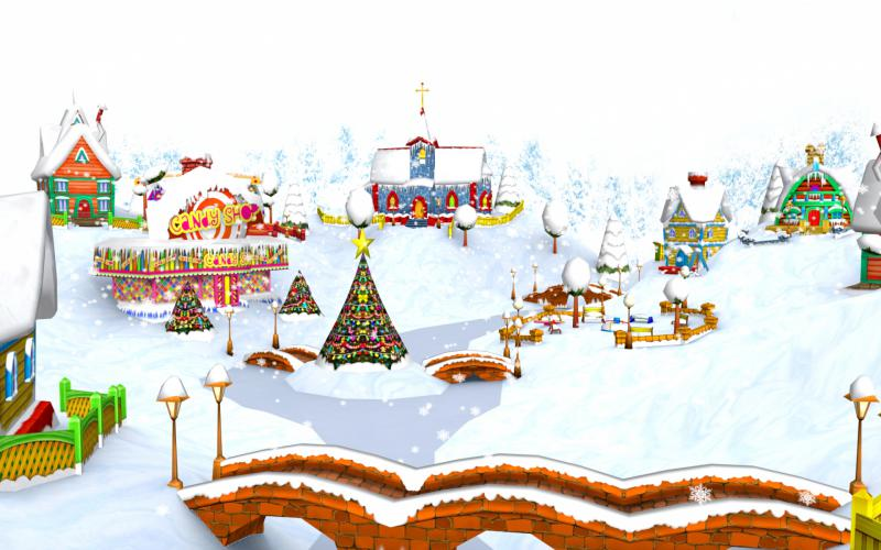 Cute Background Wallpaper For Computer Christmas Lights Hd Hd A Whimsical Christmas Wallpaper Download Free 92668