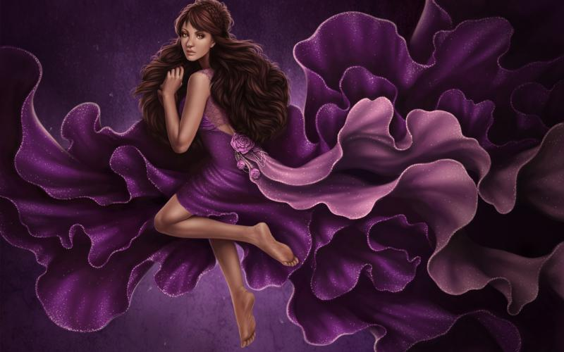 HD princesspurple Wallpaper  Download Free  103466