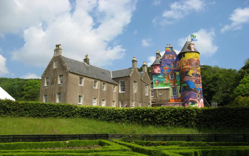 HD Colorful Castle Wallpaper Download Free 110039