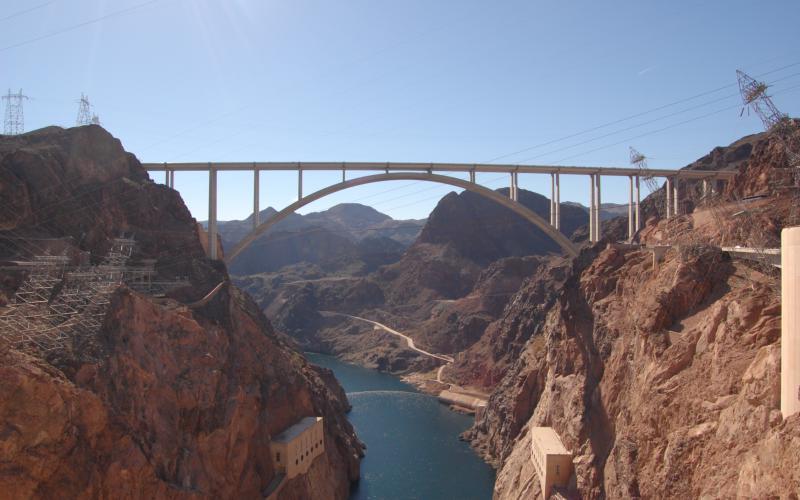 Good Morning Cute Wallpaper Hd Hd Hoover Dam Bridge Wallpaper Download Free 110898