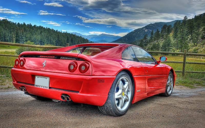 Car Hdr Wallpaper Hd Old Ferrari In The Countryside Hdr Wallpaper Download