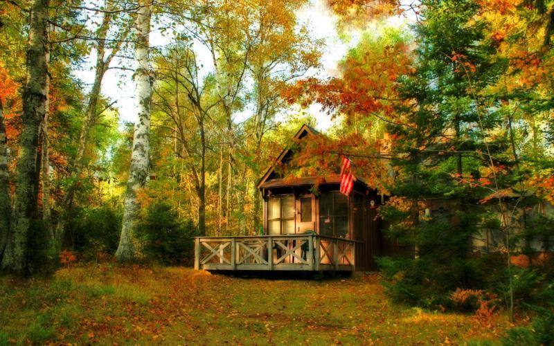 Free Fall Disney Wallpaper Hd Back Porch In Autumn Wallpaper Download Free 71267