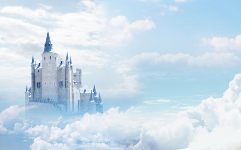 Cute Colourful Wallpapers Free Download Hd Castle In The Sky Wallpaper Download Free 48551