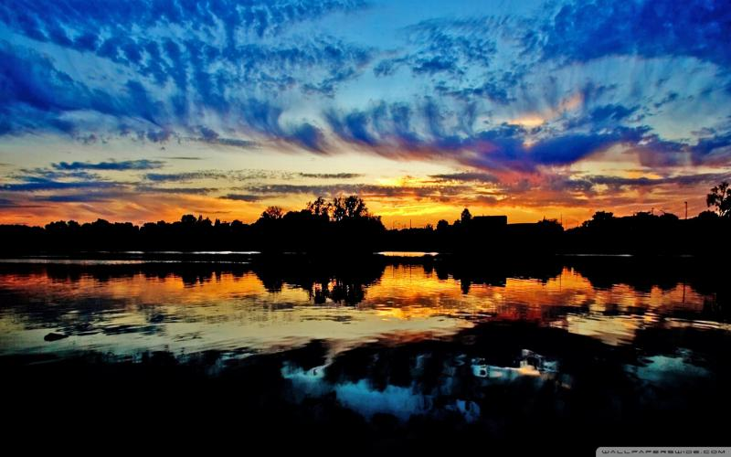 Download Cute Funny Baby Wallpapers Hd Colorful Sky At Nightfall Wallpaper Download Free 48949