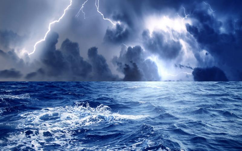 Earth Animated Wallpaper Hd Exciting Storm At Sea Wallpaper Download Free 52026