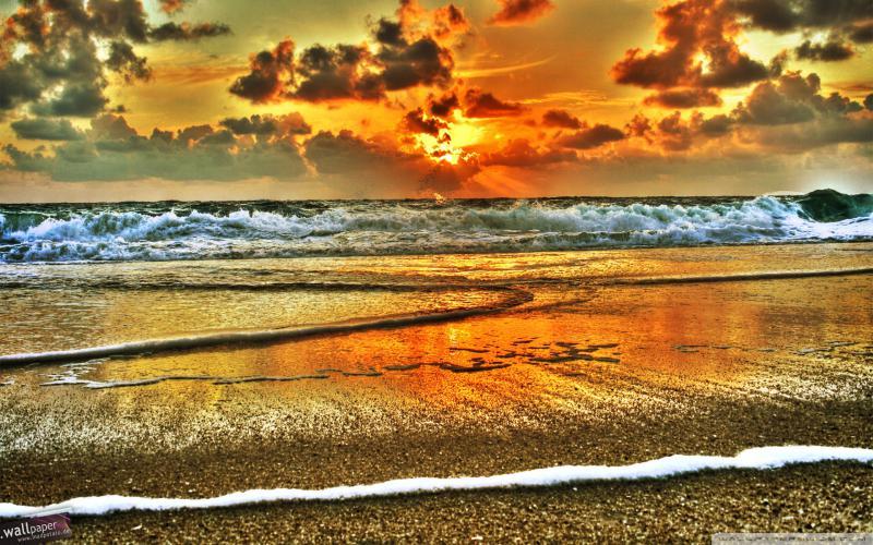 Good Morning Cute Baby Hd Wallpaper Hd Glorious Beach On Sylt Isl Germany Hdr Wallpaper