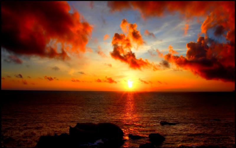 Cute Wallpapers Of Roses Hd Sunset Clouds Wallpaper Download Free 54174