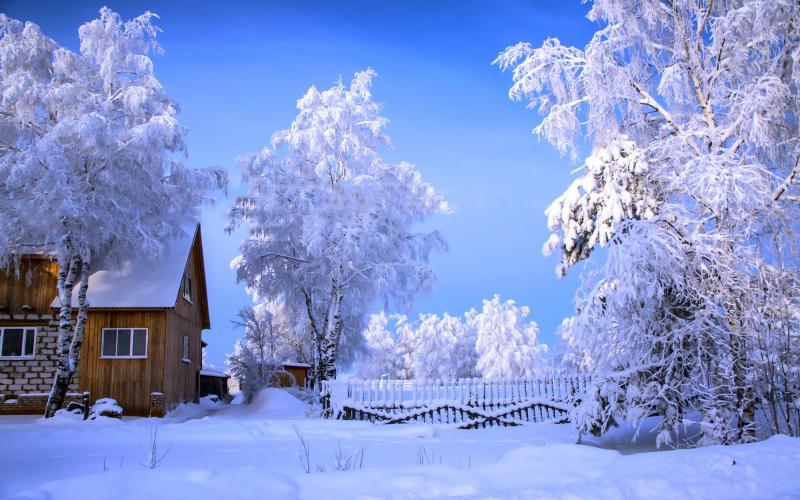 HD Beautiful Winter Day Wallpaper  Download Free  63389