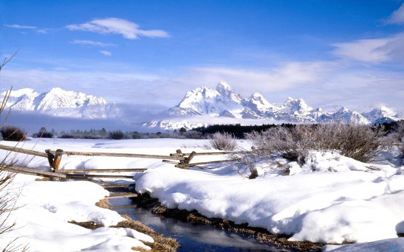 3d Animated Christmas Wallpapers Hd Wyoming In Winter Wallpaper Download Free 56074