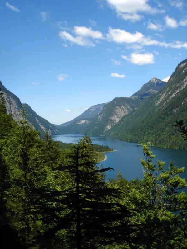Free Bavarian Mountain Lake Stock