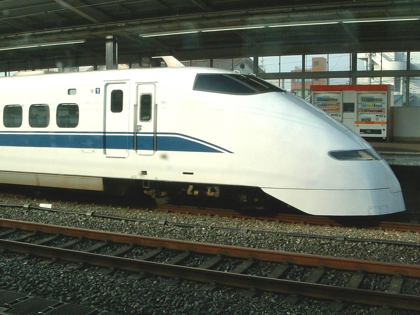 Free Japan S Bullet Train Stock Photo