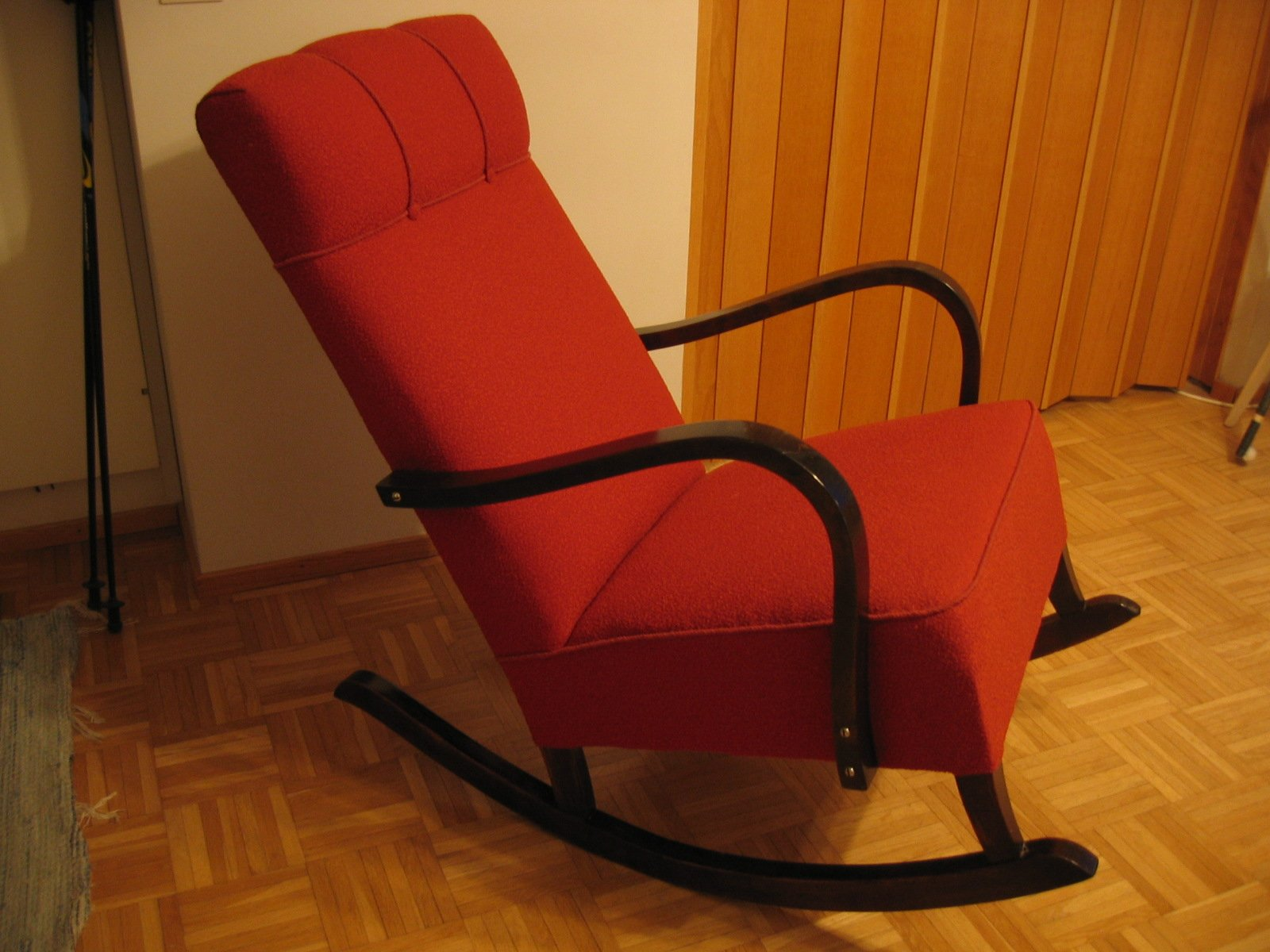 Red Rocking Chair Free Red Rocking Chair Stock Photo Freeimages