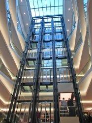 mall shopping lifts liften winkelcentrum ascensores modern freeimages rgbstock level architectuur winkelen