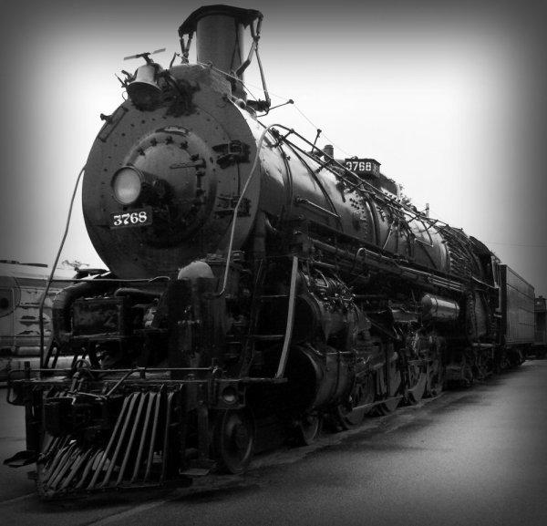 Ghost Train Steam Locomotive