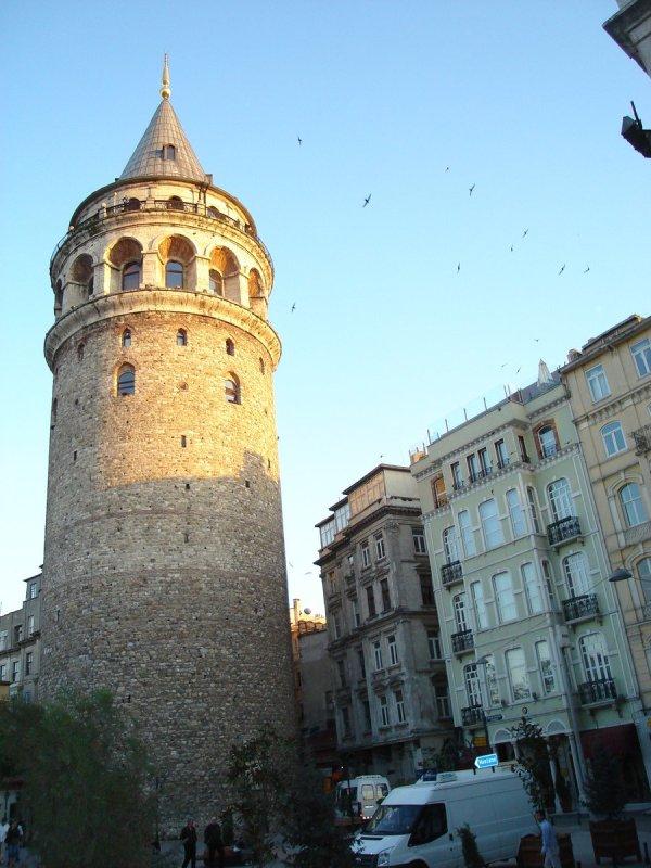 Free Galata Tower Stock