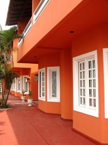 Free Corridor Colors Hotel Stock
