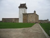 Free Narva Castle Stock