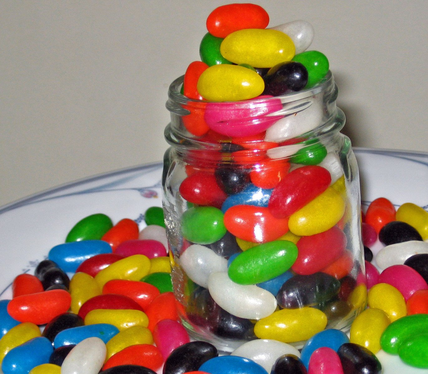 Free Grace Illustrated By Jelly Beans Stock Photo