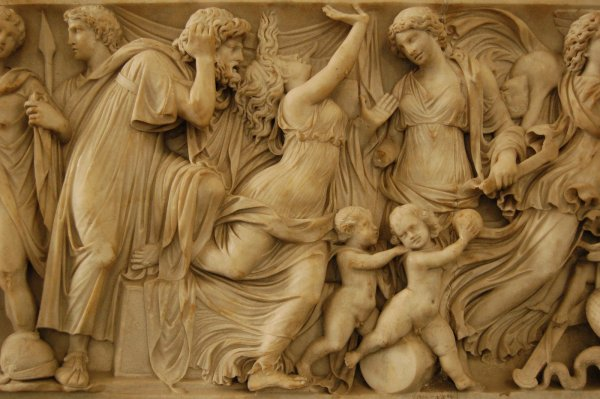 Free Greek Frieze Stock