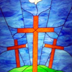 Steel Airport Chair Teal Blue Accent Free Stained Glass Crosses Stock Photo - Freeimages.com