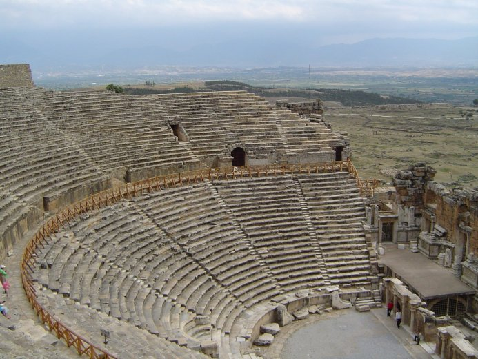 Ancient theatre in Hierapolis