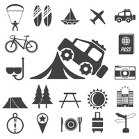 Set of Backstage Pass Template Designs Stock Vector